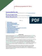 Teoría básica y problemas propuestos de Calor y Termodinámica