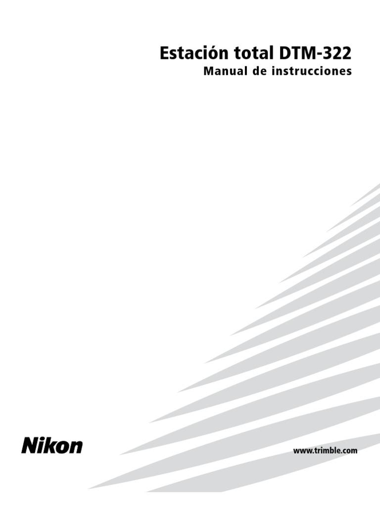 Manual Nikon DTM 332