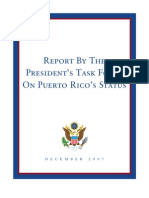 2007 Report by the President Task Force on Puerto Rico Status