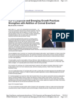 VLP's Corporate and Emerging Growth Practices Strengthen With Addition of Conrad Everhard