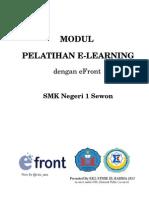 Modul Pelatihan E-Learning