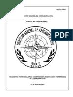 Reglamento Para La Construccion de Helipuertos CO DA-05_07