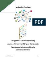 Las Redes Sociales DavidNM2