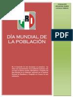 11-07-13 Entregable, Día Mundial de la Población