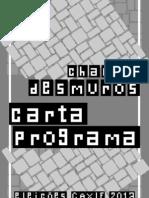 CARTA-PROGRAMA Desmuros versão final revisada