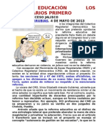 CMD Y MBM JALISCO, EN EDUCACIàN LOS EMPRESARIOS PRIMERO