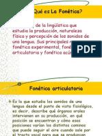(5)Qué es La Fonética