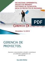 07 Gerencia de Proyectos