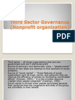 Third Sector Governance (Nonprofit Organization)