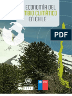 La Economia Del Cambio Climatico en Chile Completo