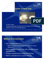 Construction Safety in Hard Rock Tunnelling (Handout)