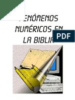 Fenomenos Numericos en La Biblia