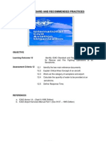 ICAO Standard and Recommended Practices