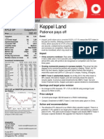 Keppel land research report 2013 July 9 Macq