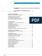 2610f Production a Commande Numerique Fraisage