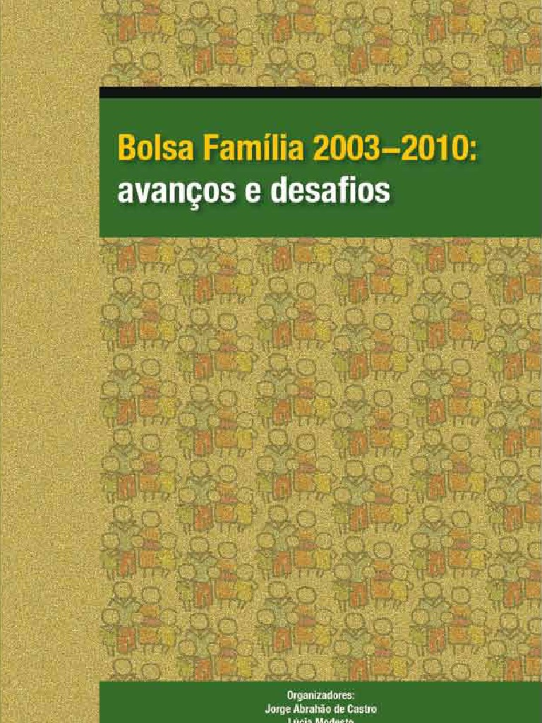 ba1543822 Bolsa Família Vol. 1