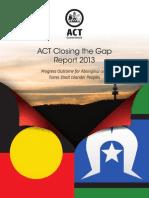 Closing the Gap Report 2013