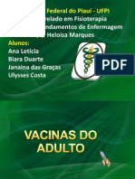 Vacinas Do Adulto