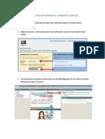 Instructivo Ingreso Ambiente Virtual