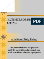 Activites of Dialy Living