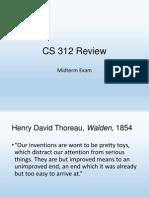 CS 312 Review