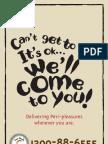 Nando'sPeriMedic Menu delivery