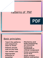 Patterns of PNF