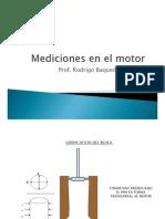 Mediciones en El Motor