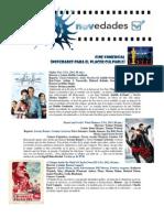 Catálogo de cine Mayo 2013