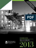 MBA Handbook 2013