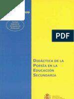 DIDÁCTICA DE LA POESÍA
