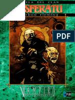 Gherbod Fleming. [Mundo de Tinieblas — Novelas de Clan - 13] Novela del Clan Nosferatu (v1.0 morifinwe)