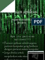 Perisian aplikasi
