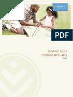 Keycare Acute Formulary