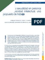 Afectividad y Sexualidad en Personas Con Discapacidad Intelectual. Una Propuesta de Trabajo
