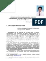 21 La Homologacion de Remuneraciones de Docentes Universitarios Felix Enrique Ramirez Sanchez