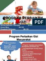 Program Perbaikan Gizi