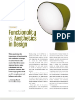 Functionality vs. Aesthetics in Design