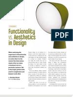 Functionality vs. Aesthetics in Design