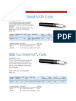 Cables mATV