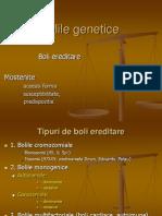 11.Bolile Genetice I
