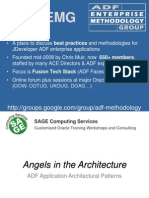 ADF Architectural Patterns - LongBeach ODTUG Minus Pics
