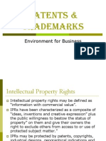 5 Patents & Trademarks