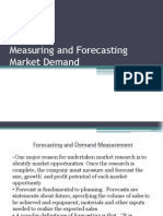Measuring and Forecasting Market Demand (2)