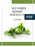 Forex Report 12 July 2013