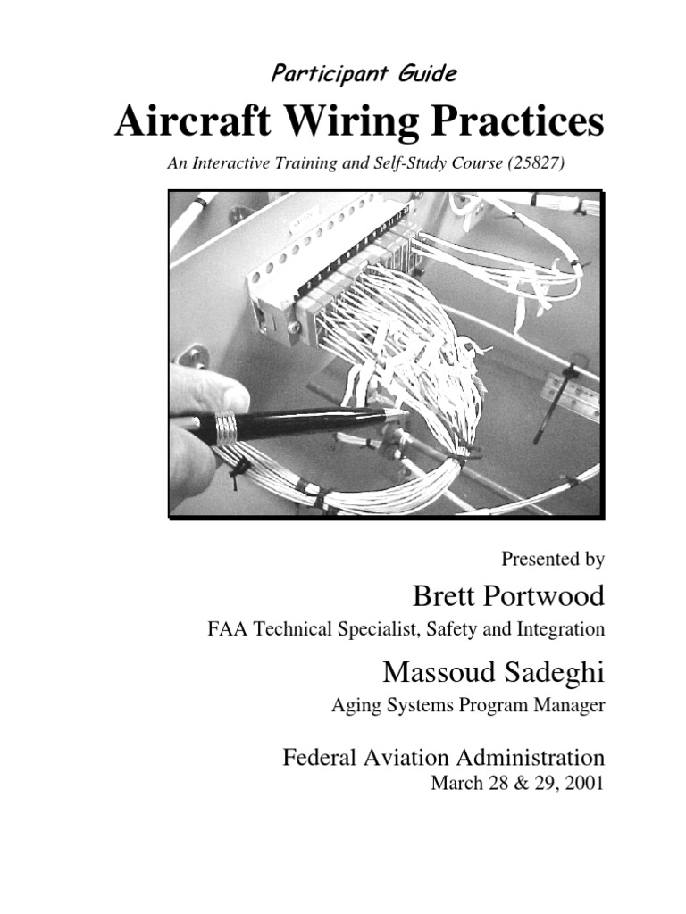 aircraft wiring ref electrical wiring federal aviation rh es scribd com aircraft wiring best practices
