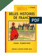 Histoire de France Belles Histoires de France CE Ozouf-Leterrier