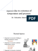 Injuries Due to Extremes of Temperature and Pressure
