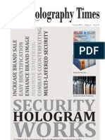 The Holography Times, Vol 6, Issue 19