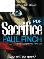 Sacrifice - Paul Finch - Extract